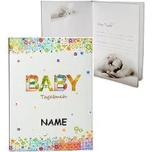 Taufe,Babyalbum mit Namen EULE Wunschname Fotoalbum zur Geburt Fotobuch