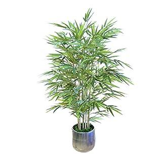e-flor made man Bambú Artificial con Cañas Naturales, Elaborados con los Mejores Materiales, Ideal para Decoración de hogar, Árbol Artificial