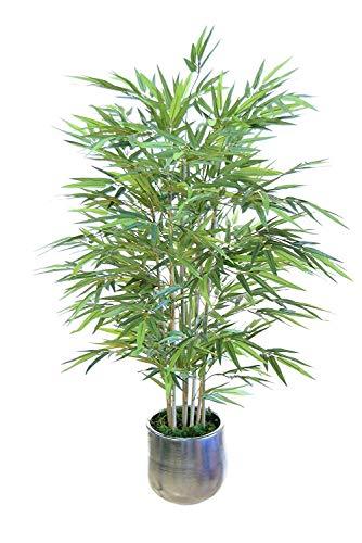 Bambú Artificial con Cañas Naturales