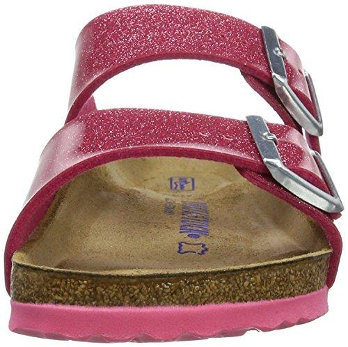 Birkenstock Arizona Birko-Flor Softfootbed, Mules Femme Pink (MAGIC Galaxy Bright Rose)