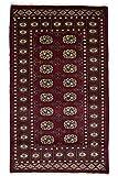 Nain Trading Pakistan Buchara 3ply 153x90 Orientteppich Teppich Dunkelbraun/Dunkelrot Handgeknüpft Pakistan