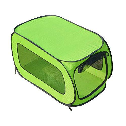AYCC Tenda Da Campeggio Tenda Da Campeggio Tenda Da Campeggio Pieghevole Lavabile Impermeabile Pet Supplies Verde,S