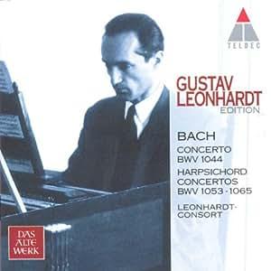 The Gustav Leonhardt Edition Vol. 1 (Bach: Cembalokonzerte)