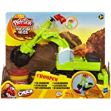 Play-Doh - A0319E240 - Loisir Créatif - Chomper - Le Bulldozer