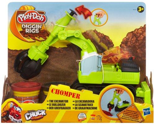 Hasbro A0319E24 - Play-Doh Chomper, der Greifbagger