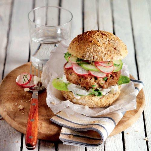 51xhi3i3K7L - Das ultimative Burger-Grillbuch: Mit und ohne Fleisch.