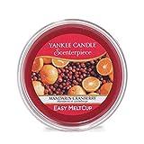 Yankee Candle coupelle de cire «Mandarine et canneberge» pour diffuseur Scenterpiece™, rouge