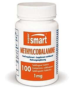 Supersmart - Vitamines - Methylcobalamine - Contenance: 75 ml.