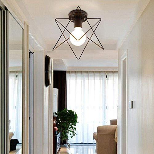 Yayong lampada da soffitto moderna semplice ferro lampada sslw retro industriale vento corridoio led abbigliamento negozio,fivecorners