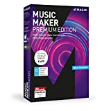 MAGIX Music Maker - 2018 Premium Edition - Die Audiosoftware mit mehr Sounds, Instrumenten und M�glichkeiten medium image