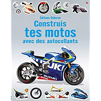 Construis tes motos avec des autocollants