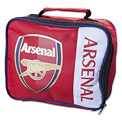 Arsenal F.C Arsenal F. C Arsenal F. C Wordmark insulated Lunch Bag (Back to School Gift)
