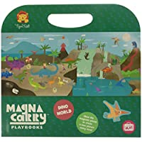 Tiger Tribe 61211 Magna Carry Playbook, Dino World Activity Set, X 10""