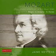 Mozart: Piano Sonata n°16 in C Major (K545)
