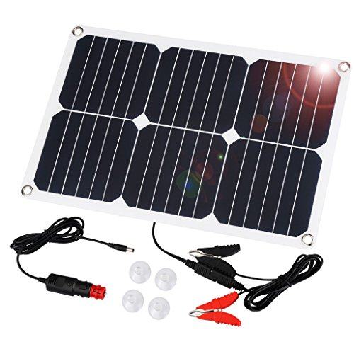 Suaoki 18 Watt Solar Panel Ladegerät Solarmodul Solarpanel Solarzelle