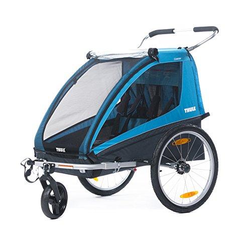 Thule Coaster Fahrradanhänger + Kinderwagen, -