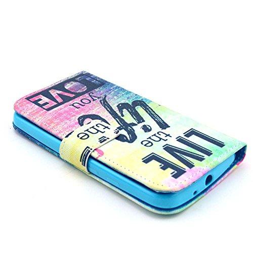 iPhone 5S Cover,Camiter Torre Design Parigi Elegante Lusso Sottile Flip Folio Pelle PU Leather Case Custodia Protector Magnete Snap-on Stile Cover per Apple iPhone 5 /5S /SE + panno di pulizia gratis mare