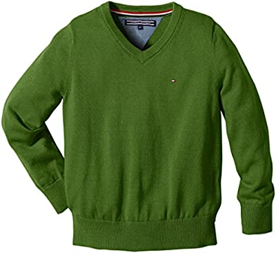 Tommy Hilfiger Tommy Vn Sweater L/S - Jersey para niños