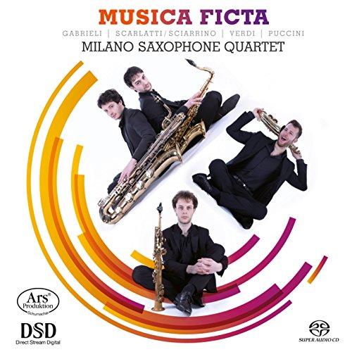 Musica Ficta - Werke für Saxophon Quartett