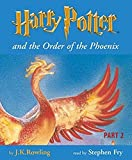 Harry Potter 5 and the Order of the Phoenix. Part 2. Children's Edition. 11 Cassetten.