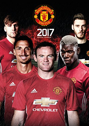 Manchester United F.C. Manchester United Official 2017 Calendar - Football A3 Wall Calendar 2017