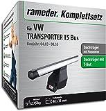 Rameder Komplettsatz, Dachträger Tema für VW TRANSPORTER T5 Bus (118907-05005-1)