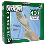 Kirkland Signature Medium Exam Nitril Handschuhe, Latex frei, 2 x 200