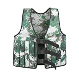Yosoo 20KG/44lbs Verstellbare Camouflage Gewichtsweste Weight Vest Trainingsweste Training Workout Fitness Sport Jacket - 5