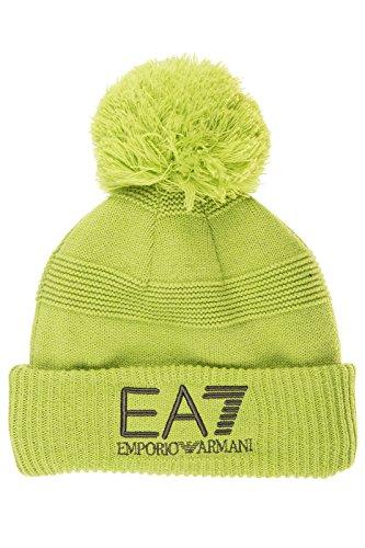 Emporio Armani EA7 cuffia berretto uomo nuova originale mount urban verde EU M 275640 6A721 06183