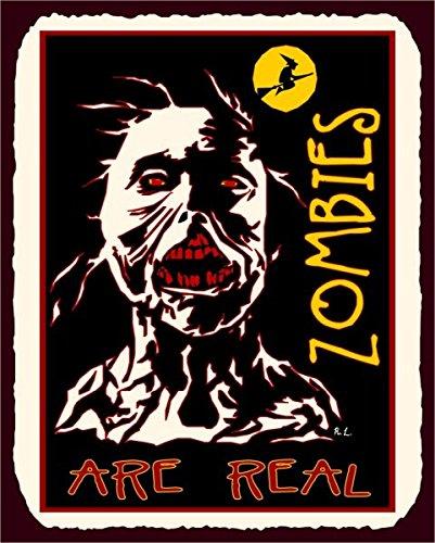 zombies-are-real-halloween-vintage-metal-art-latta-metallo-tin-sign-7-x-10-segni-in-metallo-vintage
