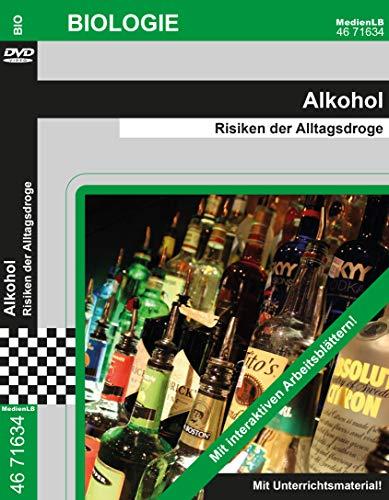 Preisvergleich Produktbild Alkohol - Risiken der Alltagsdroge (Jenke) Nachhilfe geeignet,  Unterrichts- und Lehrfilm