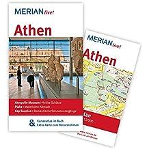 Athen: MERIAN live! - Mit Kartenatlas im Buch und Extra-Karte zum Herausnehmen