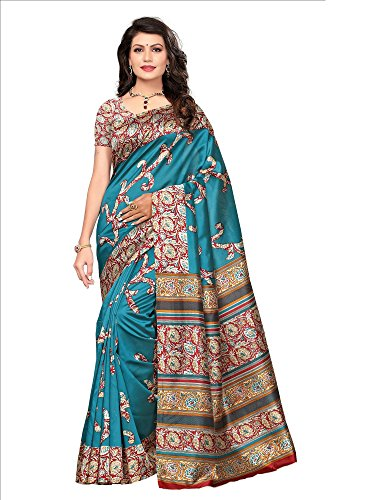 SAREE MALL Womens art silk Saree with blouse (sarees offer below 500 rs_SRJA030)