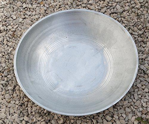 Pianta, Ciotola Fuoco FS06, Metallo Zincato, diametro 47cm