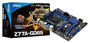 MSI 911-7751-032 Z77A-GD65 Carte mere PCI Express GEN 3