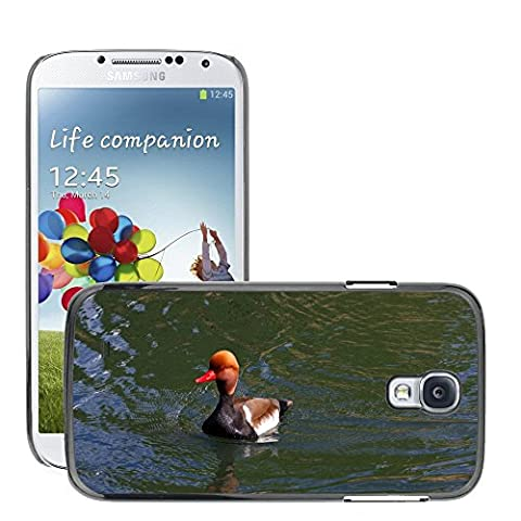 Just Phone Cover Hard plastica indietro Case Custodie Cover pelle protettiva Per // M00139732 Pochard Red Headed Pochard Canard // Samsung Galaxy S4 S IV SIV i9500