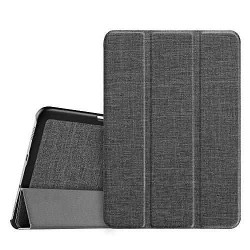 Fintie Samsung Galaxy Tab S2 8.0 Custodia - Ultra Sottile Di Peso Leggero Tri-Fold Smart Case Cover Con Funzione Sleep/Wake per Tablet Samsung Galaxy Tab S2 8.0' (8 pollici) Tablet, Denim Charcoal