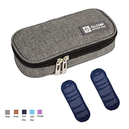 Apollowalker Kühltasche Insulin Tasche für Diabetes Spritzen,Insulininjektion und Medikamente