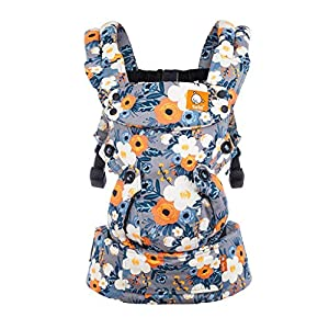 Tula Explore TBCA6F60 French Marigold - Ergonomic and Adjustable Baby Carrier with Front Position Outside Designed to Grow with Your Baby from 3, 2 to 20, 4 kg Without a Baby Cushion   4