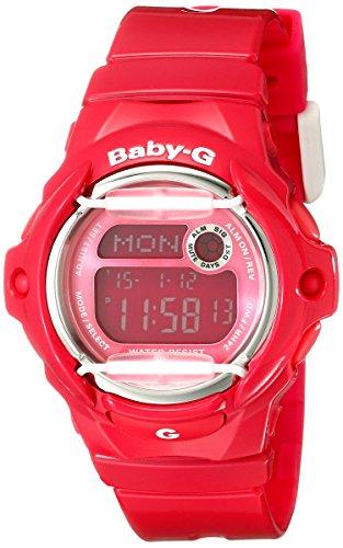 Casio Damas Baby-G Cuarzo: Batería JAPAN Reloj (Modelo de Asia) BG-169R-4B