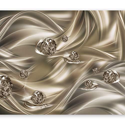 *murando – Fototapete 400×280 cm – Vlies Tapete – Moderne Wanddeko – Design Tapete – Wandtapete – Wand Dekoration – Abstrakt Diamant a-A-0253-a-b*