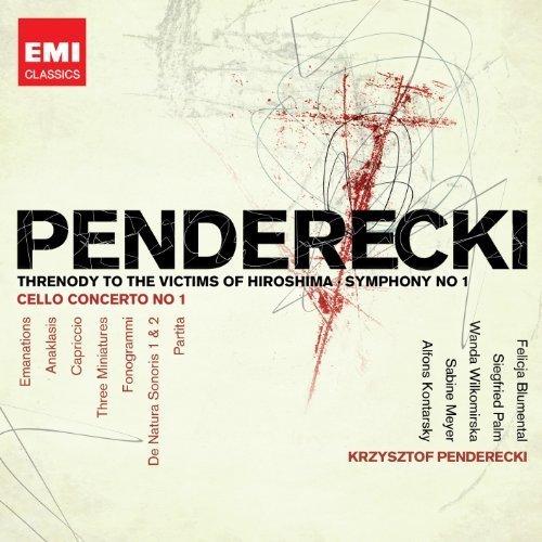 Penderecki: Threnody to Victims of Hiroshima by Krzysztof Penderecki (2012) Audio CD