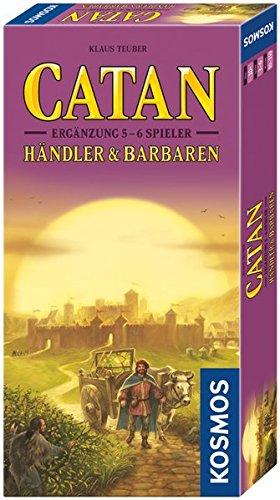 Catan – Händler und Barbaren Ergänzung für 5 – 6 Spieler