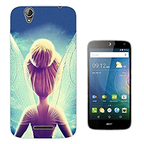002918 - Pretty Fairy Whimsical Fairy tale Cartoon Design Acer Liquid Z630 Z630S Fashion Trend Protecteur Coque Gel Rubber Silicone protection Case Coque