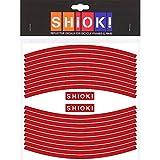 SHIOK! Felgenaufkleber 'Straight' (Red)