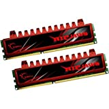 G.Skill 8GB DDR3 PC3-10666 DC Kit - memory modules (DDR3, PC/server, 240-pin DIMM, 2 x 4 GB, PC3-10666, DIMM)