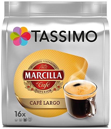 Foto de Tassimo Marcilla Café Largo - Capsulas, 16 unidades