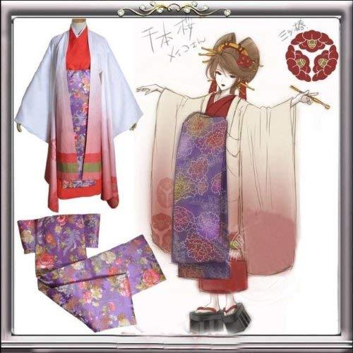 Sunkee Vocaloid Cosplay Senbon Sakura Meiko Hatsune Miku Kostüm, Größe XL( Alle Größe Sind Wie Beschreibung Gesagt, überprüfen Sie Bitte Die Größentabelle Vor Der Bestellung )