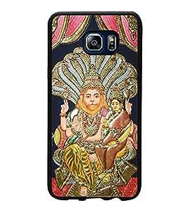 Fuson Designer Back Case Cover for Samsung Galaxy Note 5 :: Samsung Galaxy Note 5 N920G :: Samsung Galaxy Note5 N920T N920A N920I (Lakshmi Narasimha Lion avatar strongest)