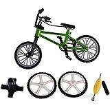 Rashi E-Commerce 1/24 DIY Simulation Model Bike Bicycle Toys for Train Railway Park Streetscape Layout